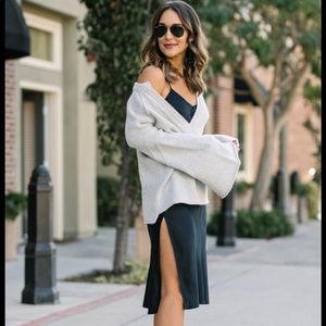 Free people lovely bell sleeve sweater